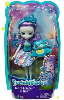 "Кукла Enchantimals ""Пава Петтер"", код FXM74"