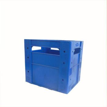 cumpără Ladă din plastic A109, 400x300x367 mm, albastru în Chișinău