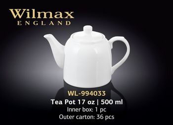 Ceainic p-u infuzie WILMAX WL-994033/A (500 ml)