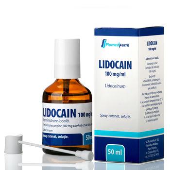cumpără Lidocain 10% 50ml spray bucofaring./cutan., sol. N1 în Chișinău
