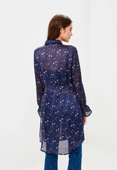 Блуза TOM TAILOR Темно синий 1005024