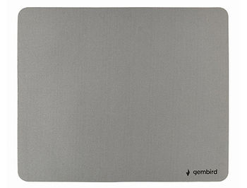 Gembird Mouse pad MP-S-G, SBR rubber, 22x18, Grey