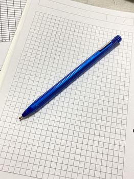 Ручка с маслом, Blue Unimax 1.0мм