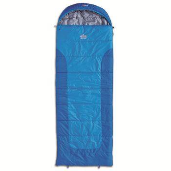 Спальный мешок-одеяло Pinguin Blizzard Blue 191 R