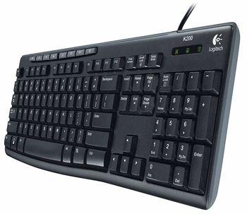 купить Клавиатура Logitech Media Keyboard K200 в Кишинёве