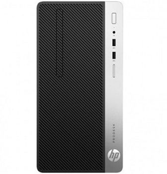 HP ProDesk 400 G4 MT lntel® Core® i3-7100 (Dual Core, 3.9GHz, 3MB), 4GB DDR4 RAM, 1TB HDD, DVDRW, Intel® HD 630 Graphics, VGA, DP, 180W PSU, USB MS&KB, FreeDOS, Black