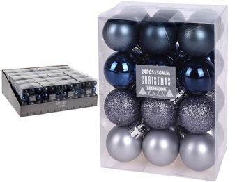 """Набор шаров 24X30mm, """"Dusk"""" в коробке, 3 дизайна"""