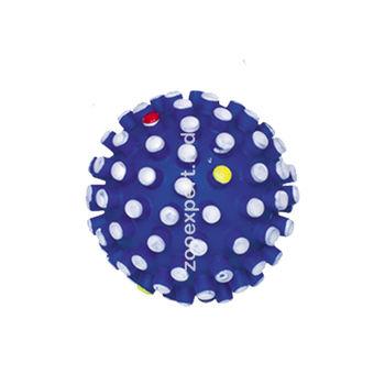 Мячик с пупырышками синий 6 см