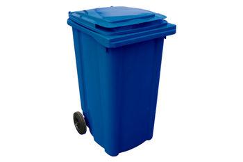 Мусорный бак Plastic G blue 240 л