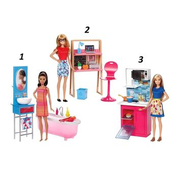 купить Mattel Барби Кукла с мебелью в Кишинёве