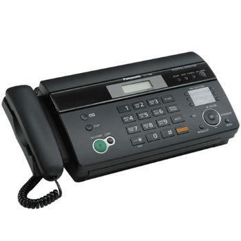 Thermal Fax Machine PANASONIC KX-FT988 Black, Cutter, TAM, АОН, Caller ID, автообрезка, цифровой дуплексный спикерфон, печать на термобумаге, функция копирования, дисплей (1 строка, 15 символов), память на 100 номеров
