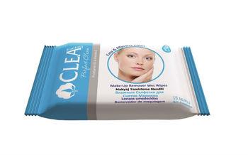 купить Влажные салфетки для снятия макияжа Clea 15 шт в Кишинёве