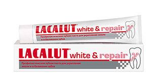 купить Lacalut зубная паста White Repair, 50 мл в Кишинёве