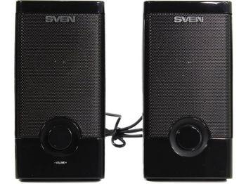 """купить Speakers  SVEN """"318"""" Black, 5w, USB в Кишинёве"""