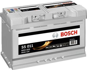 Bosch S5 12V 85Ah 800EN 315x175x190 -/+