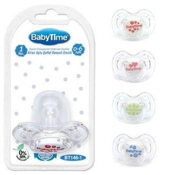 Силиконовая пустышка BabyTime BT146