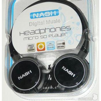 Наушники NASH NHP-01MP3
