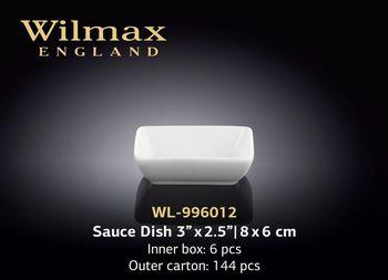 Тарелка WILMAX WL-996012 (для соуса 8х6 см)