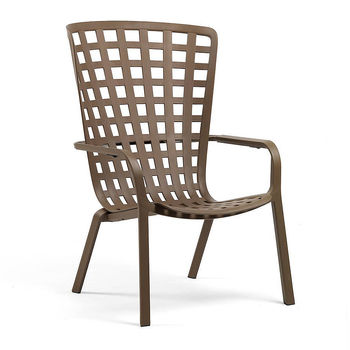 Лаунж-кресло Nardi FOLIO TABACCO 40300.53.000.04 (Лаунж-кресло для сада и террасы)