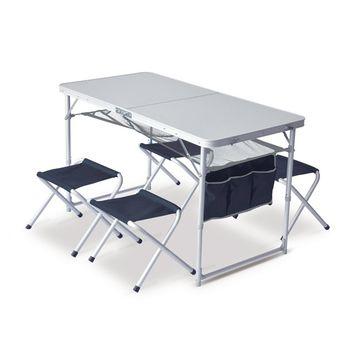 купить Стол и стулья в наборе Pinguin Set Table + 4 Chairs, 621006 в Кишинёве