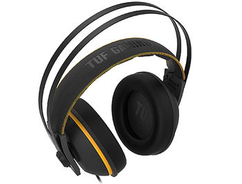 "ASUS Gaming Headset TUF Gaming H7 Core Yellow, Driver 53mm Neodymium, Impedance 32 Ohm, Headphone: 20 ~ 20000 Hz, Sensitivity microphone: -45 dB, Cable 1.2m, 3.5 mm(1/8"") connector Audio/mic combo"