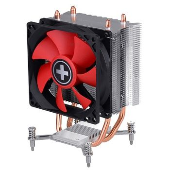 "XILENCE Cooler XPCPU.I402  Performance C Series ""I402"", Socket 1150/1151/1155, up to 130W, 92х92х25mm, Hydro-bering fan, 600~2200rpm, 14.0~23.8dBA, 65.4CFM, 4pin, PWM, 2 heatpipes"