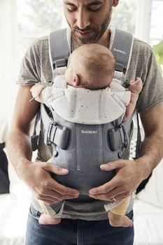 купить Анатомический рюкзак-кенгуру BabyBjorn One Blue Sprinkles в Кишинёве