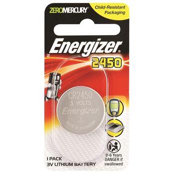Energizer CR2450, Lithium PIP-1