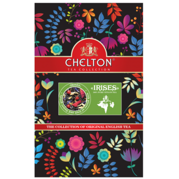 Английский чай Chelton Ирисы 90гр