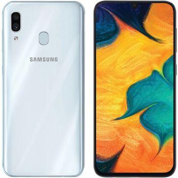 купить Samsung Galaxy A30 2019 3/32Gb Duos (SM-A305), White в Кишинёве