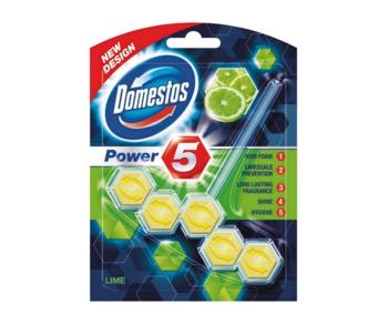 купить Блок для очищения унитаза Domestos Power 5 Lime, 1 шт x 55 г в Кишинёве