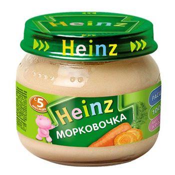 купить Heinz пюре морковь, 5+мес. 80г в Кишинёве