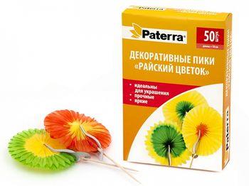 купить Декоративные  пики Paterra Райский Цветок, 12 шт. в Кишинёве