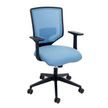 купить Офисный стул 600x535x925 мм, синий в Кишинёве