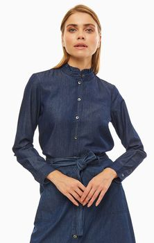 Блуза Tom Tailor Синий