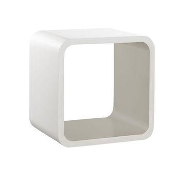 купить Полка Softcube 255x255x200 мм, белый+серый в Кишинёве