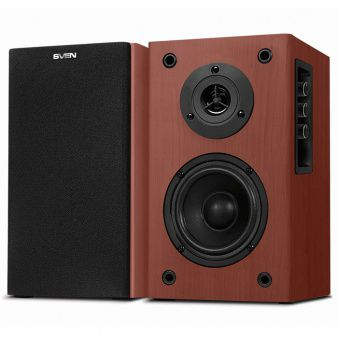 SVEN SPS-612 Wooden,  2.0 / 2x20W RMS, wooden