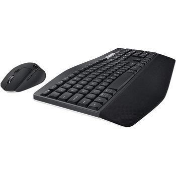 Logitech MK850 Black Performance Wireless Keyboard and Mouse Combo, Bluetooth, 920-008232 (set fara fir tastatura+mouse/беспроводной комплект клавиатура+мышь)