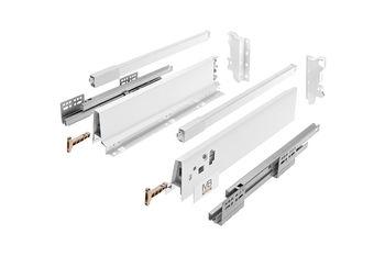 Modern Box Square alb L-500 H-146 deschidere totală cu amortizor