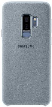 купить Чехол для моб.устройства Samsung EF-XG965, Galaxy S9+, Alcantara, Mint в Кишинёве