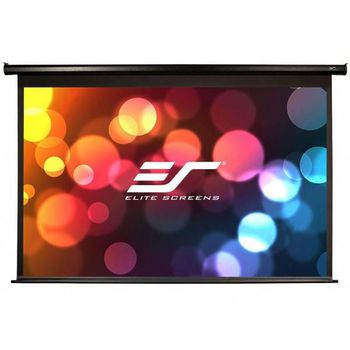 "Elite Screens 128""(16:10) 172,2x275,3cm Spectrum Series Electric Screen with IR/Low Voltage 3-way wall box, Black"