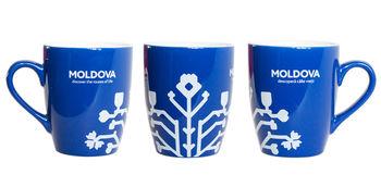 купить Кружка Blue&W – Pomul Vietii в Кишинёве