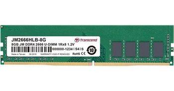 8GB DDR4-2666  Transcend JetRam, PC21300, CL19, 1.2V