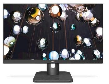 "23.8"" AOC IPS LED 24E1Q Black Borderless Matt (5ms, 50M:1, 250cd, 1920x1080, 178/178,  HDMI,  DisplayPort, Audio out, Speakers)"