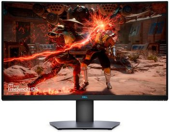 "31.5"" DELL VA LED S3220DGF Curved QHD Black (1ms, 1M:1, 400cd, 2560x1440, 178°/178°, 165Hz Refresh Rate, AMD FreeSync 2, HDMI x 2, DisplayPort, USB Hub: 3 x USB3.0 , Audio Line out, VESA .)"
