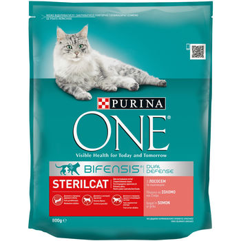 купить Purina One Steril Cat Salmon & Wheat 800 gr в Кишинёве