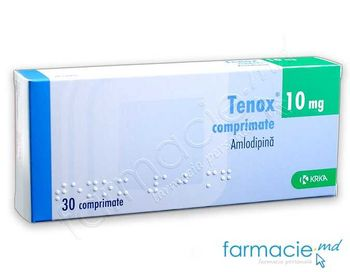купить Тенокс, табл. 10 мг N30 (амлодипин) в Кишинёве
