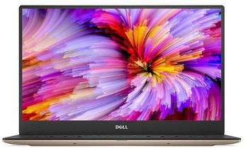 "DELL XPS 13 Aluminium/Carbon Ultrabook (9360) Rose Gold, 13.3"" FullHD (Intel® Core™ i5-8250U up to 3.40GHz , 8GB DDR3 RAM, 256GB SSD, Intel® UHD Graphics 620, CardReader, WiFi-AC/BT, TB3, 4cell, HD720p Webcam, Backlit KB, FR, W10HE64, 9-15mm,1.2kg)"