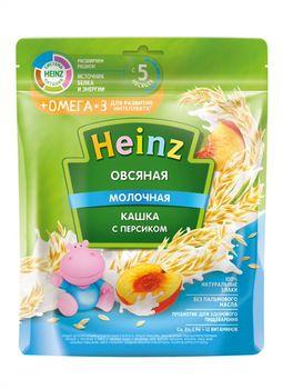 купить Каша Heinz Омега3 овсяная с персиком и молоком, с 5месяцев, 200г в Кишинёве