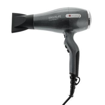 Фен 2000 Вт ErgoLife Compact DEWAL 03-002 Grafit